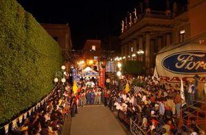 The start of the Corona Rally Mexico in Guanajuato