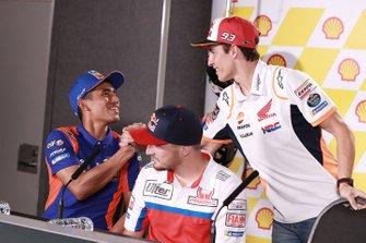 Hafizh Syahrin, Red Bull KTM Tech 3, Marc Marquez, Repsol Honda Team