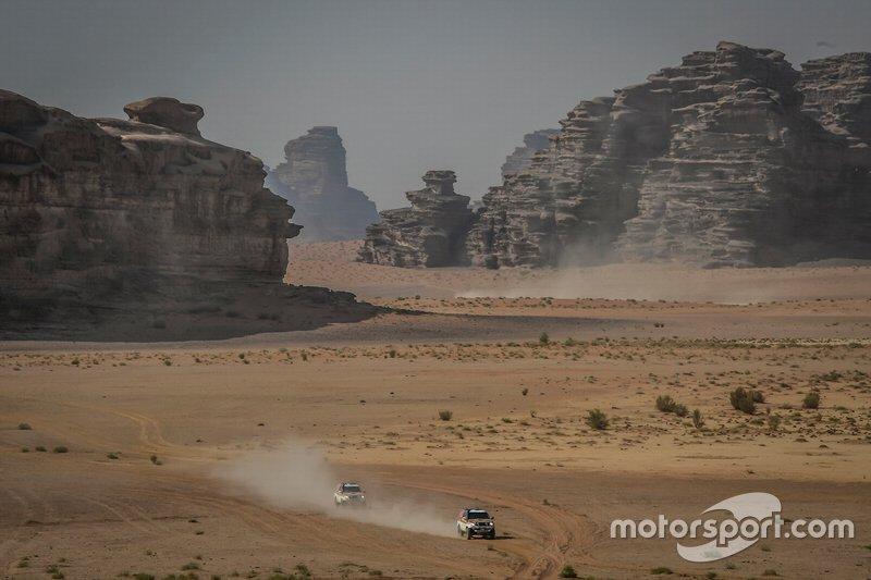 Etapa 1 (5 de janeiro): de Yeda a Al Wajh (752 km, sendo 319 cronometrados)