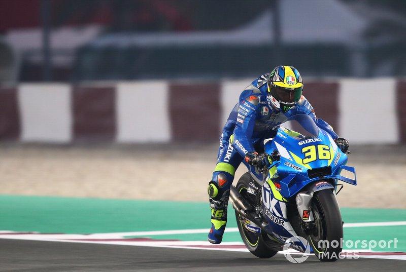 6º Joan Mir, Team Suzuki MotoGP - 1:54.129