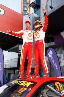 Winners Scott McLaughlin, Alexandre Prémat, DJR Team Penske Ford