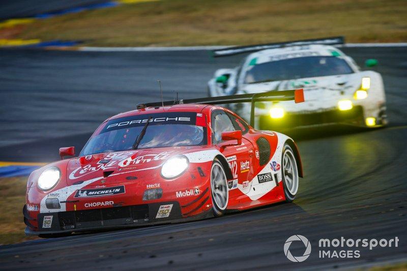 #912 Porsche GT Team Porsche 911 RSR, GTLM: Earl Bamber, Laurens Vanthoor, Mathieu Jaminet