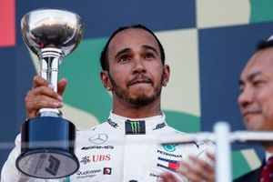 Обладатель третьего места Льюис Хэмилтон, Mercedes AMG F1