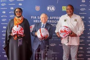 Dr Amina Mohamed, Cabinet Secretary for Sports, Heritage and Culture of Keny, Jean Todt, FIA President