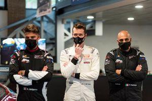 Benedetto Strignano, AB Racing, Piergiacomo Randazzo, AB Racing e Francesco Maria Fenici, AB Racing