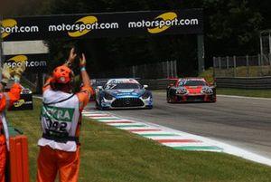 Philip Ellis, Mercedes AMG Team Winward Mercedes AMG GT3, Nico Müller, Team Rosberg, Audi R8 LMS GT3
