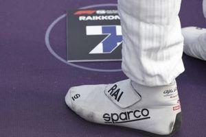 The boots of Kimi Raikkonen, Alfa Romeo Racing
