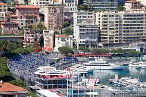Vista general del circuito de Mónaco de Fórmula E