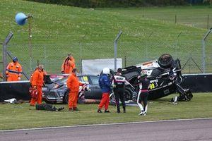 Jade Edwards, Glynn Geddie crash