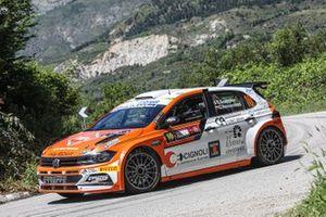 Giacomo Scattolon, Giovanni Bernacchini, Erreffe Rally Team, Movisport, Volkswagen Polo GTI R5
