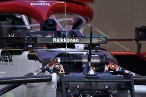Alfa Romeo Racing C41 detail