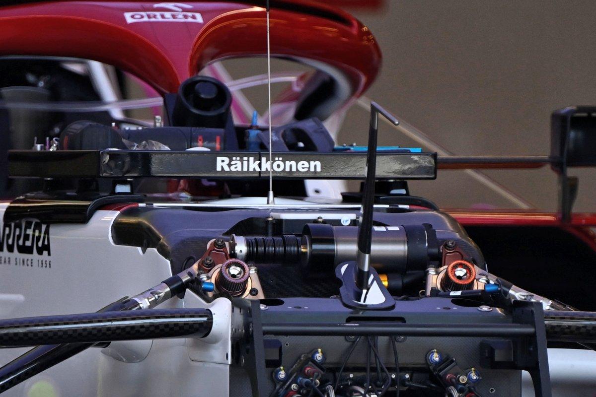 Detalle del Alfa Romeo Racing C41