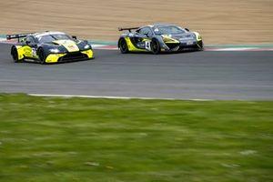 #4 Harry Hayek / Katie Milner - Team Rocket RJN McLaren 570S GT4 and #7 Andrew Howard/ Jonny Adam - Beechdean AMR Aston Martin Vantage GT3