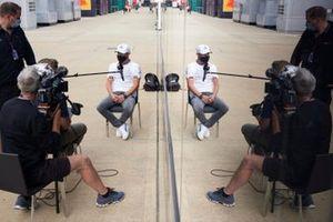 Valtteri Bottas, Mercedes speaks to the media