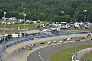 Kyle Busch, Joe Gibbs Racing, Toyota Supra M&M's, Daniel Hemric, Joe Gibbs Racing, Toyota Supra Poppy Bank