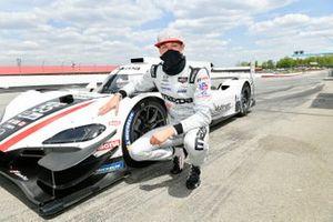 #55: Mazda Motorsports Mazda DPi, DPi: Harry Tincknell, Oliver Jarvis, en pole position