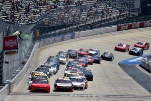 Justin Allgaier, JR Motorsports, Chevrolet Camaro BRANDT, Josh Berry, JR Motorsports, Chevrolet Camaro Tire Pros
