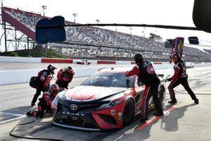 Christopher Bell, Joe Gibbs Racing, Toyota Camry Rheem pit stop