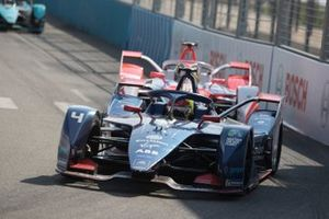 Robin Frijns, Envision Virgin Racing, Audi e-tron FE07, Alexander Sims, Mahindra Racing, M7Electro