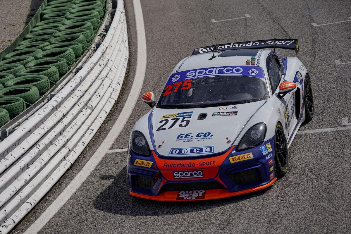 #275 Autorlando Sport, Porsche 718 Cayman GT4: Dario Cerati, Giuseppe Ghezzi