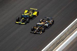 Rinus VeeKay, Ed Carpenter Racing Chevrolet, Colton Herta, Andretti Autosport Honda