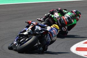 Garrett Gerloff, GRT Yamaha WorldSBK Team, Alex Lowes, Kawasaki Racing Team WorldSBK