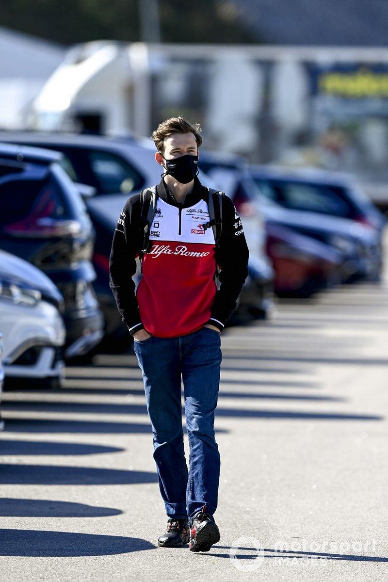 Callum Ilott, piloto reserva de Alfa Romeo Racing
