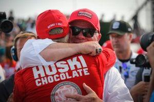 Racewinnaar Marcus Ericsson, Chip Ganassi Racing Honda, Chip Ganassi