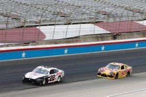 Austin Cindric, Team Penske, Ford Mustang Odyssey Battery, Kyle Busch, Joe Gibbs Racing, Toyota Supra Twix
