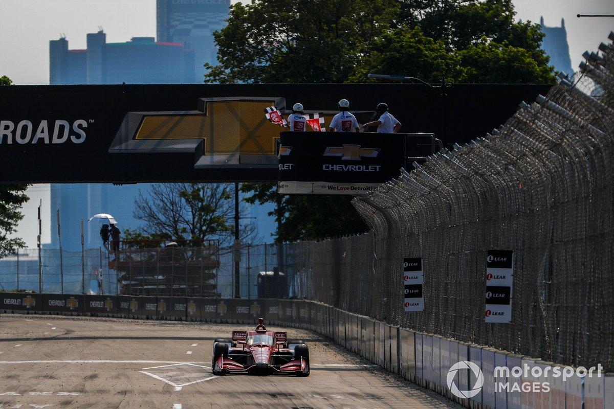 Ganador Marcus Ericsson, Chip Ganassi Racing Honda