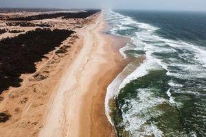 Senegal Beach, Extreme E, course