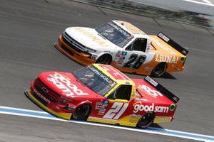 Zane Smith, GMS Racing, Chevrolet Silverado Good Sam, Tyler Ankrum, GMS Racing, Chevrolet Silverado LiUNA!