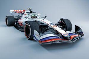 Haas 2022 F1 car