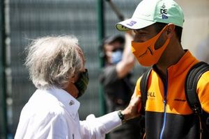Sir Jackie Stewart and Daniel Ricciardo, McLaren