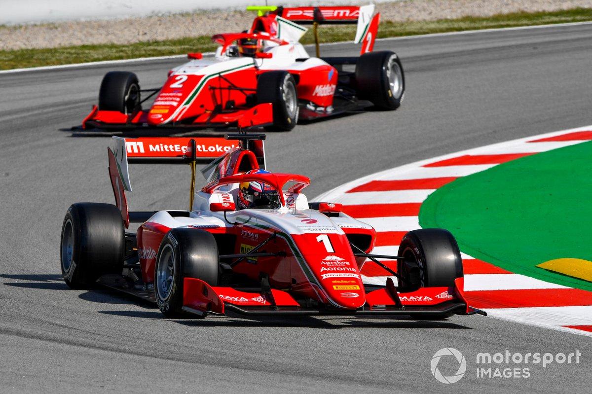 Dennis Hauger, Prema Racing y Arthur Leclerc, Prema Racing