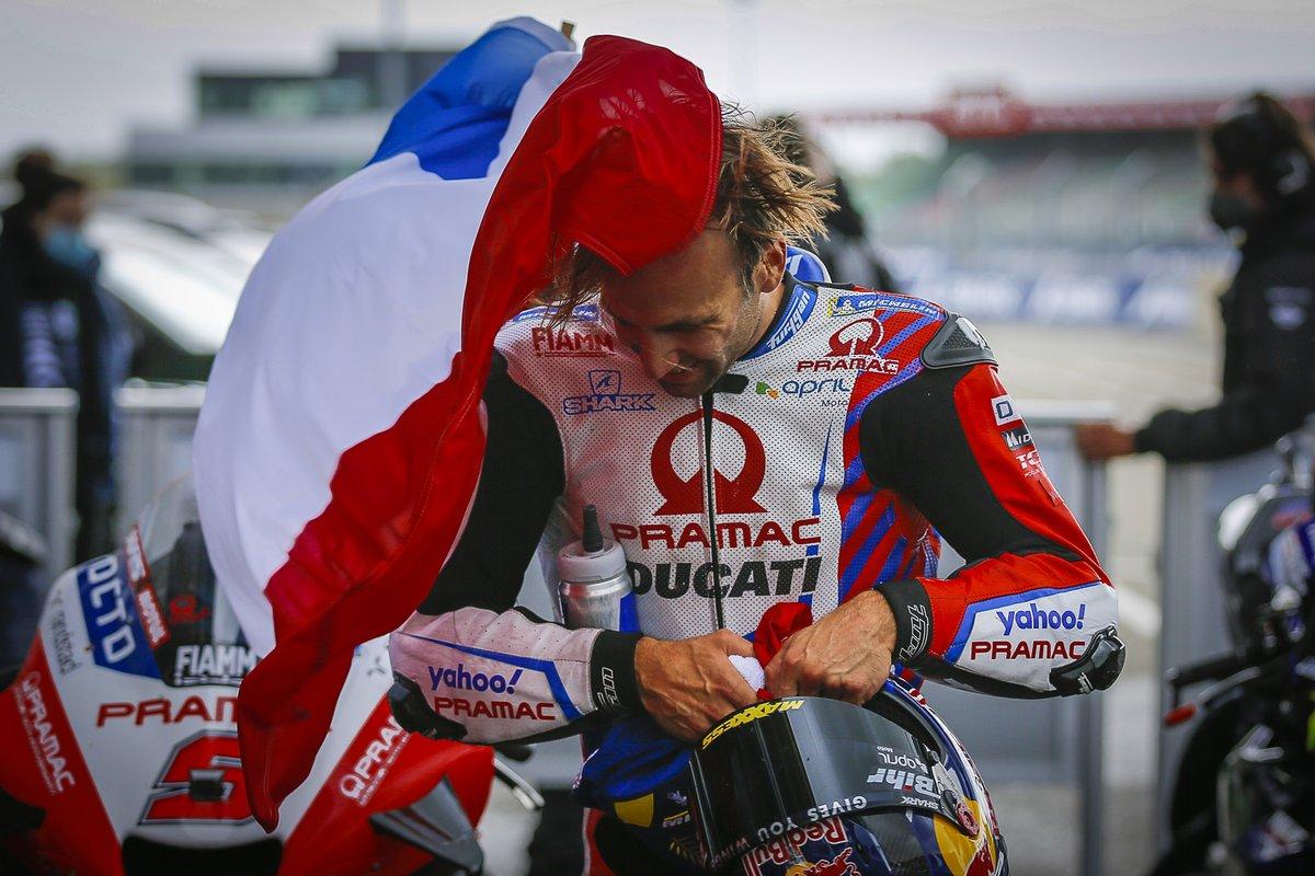 Segundo lugar Johann Zarco, Pramac Racing