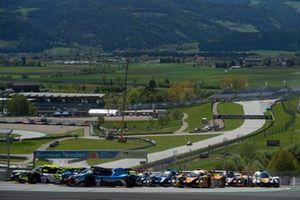 #8 Graff Ligier JS P320 - Nissan: Eric Trouillet, Sébastien Page, David Droux, #19 Cool Racing Ligier JS P320 - Nissan: Nicolas Maulini, Matthew Bell, Niklas Krütten