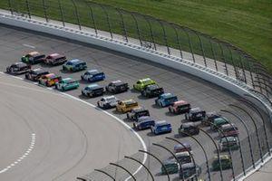 William Byron, Hendrick Motorsports, Chevrolet Camaro Axalta, Brad Keselowski, Team Penske, Ford Mustang Verizon 5G