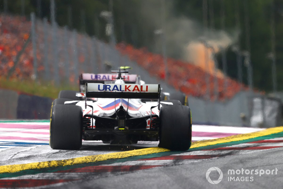 Mick Schumacher, Haas VF-21, Nikita Mazepin, Haas VF-21