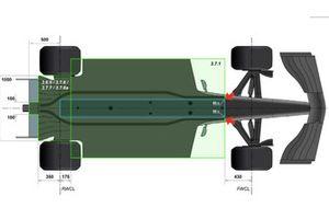 Haas F1 Team VF-18, Floor 50mm Radius