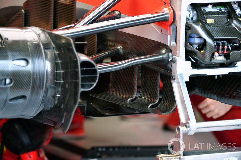 Ferrari SF71H aero detail
