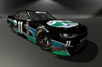 Ryan Truex, Kaulig Racing, Chevrolet Camaro