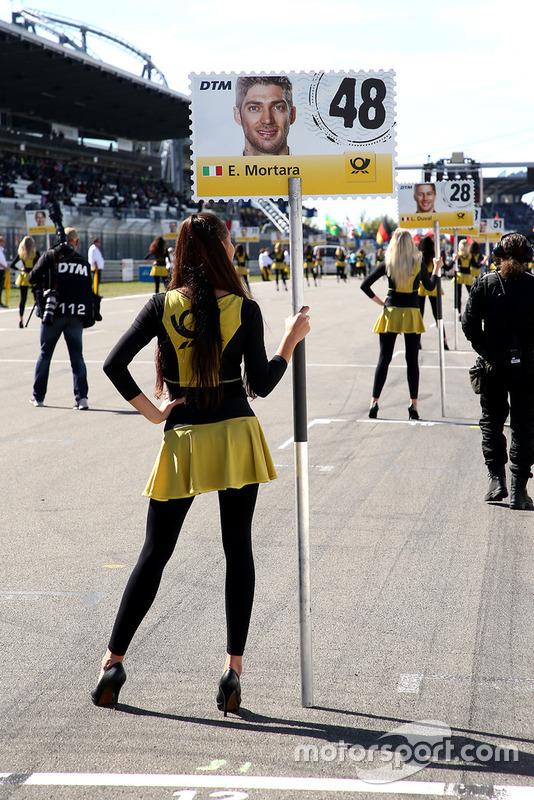 Chica de la parrilla de Edoardo Mortara, Mercedes-AMG Team HWA