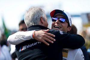 Jens Marquardt, BMW Motorsport Director and Bruno Spengler, BMW Team RBM