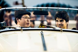 Lance Stroll, Williams Racing, at the drivers parade