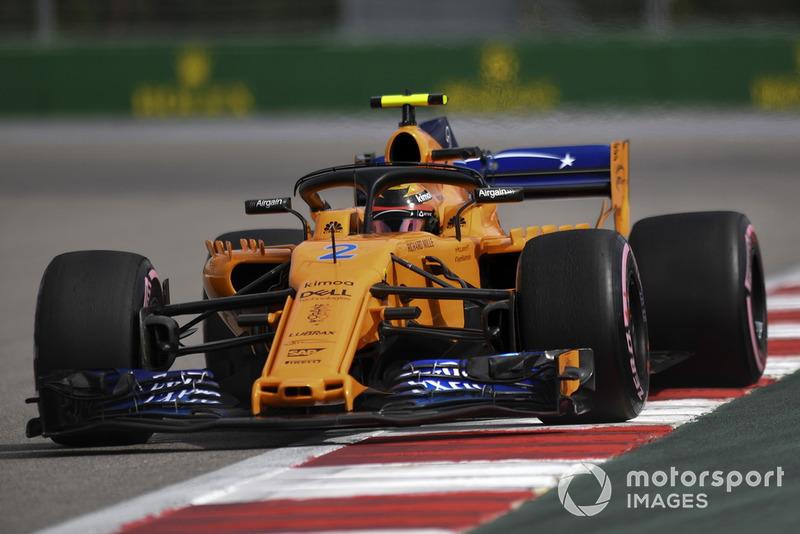 Stoffel Vandoorne: McLaren - 5 puan