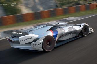 Peugeot L750R HYbrid Vision Gran Turismo