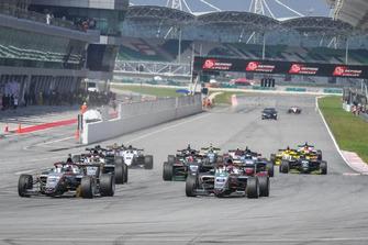 Aksi start F3 Asia