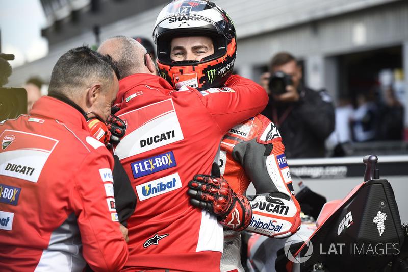 Володар поул-позиції Хорхе Лоренсо, Ducati Team