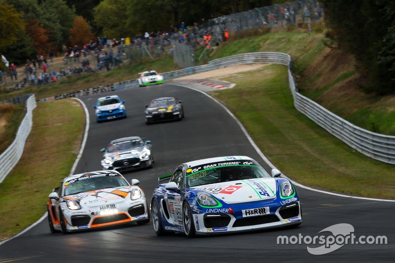 #969 Porsche Cayman GT4 CS: Moritz Kranz, Felix Günther